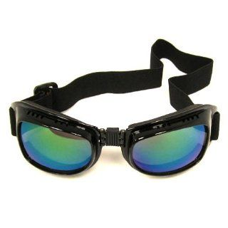 Motorcycle Scooter Mopeds Vespa Racing Goggles, Foldable & Tinted Lens: Automotive