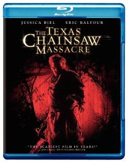 The Texas Chainsaw Massacre (2003) [Blu ray] Jessica Biel, Jonathan Tucker, Erica Leerhsen, Mike Vogel, Eric Balfour, R. Lee Ermey, Marcus Nispel Movies & TV