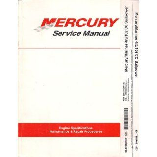 Mercury / Mariner Service Manual, 4 HP, 5 HP, 102 CC Sailpower Models with U.S. Serial Numbers 0A809601 & Above, Canada Serial Numbers 0A80961 & Above, P/N 90 17308R02: Mercury Marine: Books