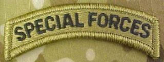 Special Forces Tab with Velcro / Hook Fastener (MULTICAM (OCP)): Clothing
