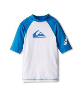 Quiksilver Kids All Time S/S Surf Shirt Boys Swimwear (Blue)