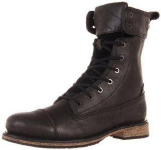 Harley Davidson Men's Kelton Motorcycle Boot, Black, 9 M US Shoes