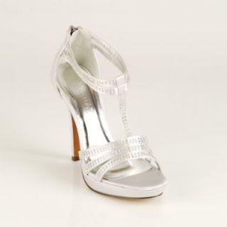 Liliana Women's Garcia 16 Jeweled Open Toe Strappy Heels (5.5): Sandals: Shoes