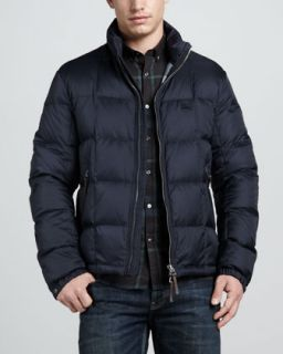 Burberry Brit Hooded Puffer Jacket