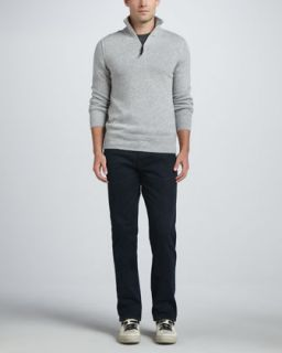 Burberry Brit Elbow Patch Long Sleeve Tee