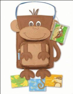 Stephen Joseph Boys Lunch Box   Snack Sac Sack MONKEY GOES BANANNAS   Boy's lunch boxes   We offer matching backpacks   FREE GIFT with purchase of both   Boys Love Monkies