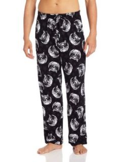 Briefly Stated Men's Sons Of Anarchy Samcro Supporter Knit Pant: Clothing