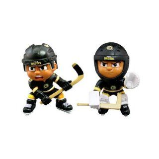 "Boston Bruins Official NHL 2.75"" Collectible Toy Figure by Party Animal  Sports Fan Toy Figures  Sports & Outdoors"