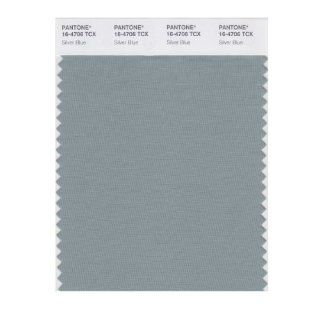 PANTONE SMART 16 4706X Color Swatch Card, Silver Blue   Wall Decor Stickers