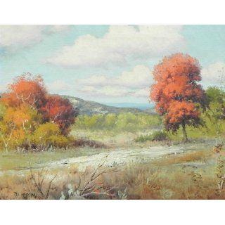 Art: Autumn Scene : Oil : Robert Wood