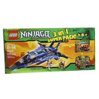 Lego Ninjago 66444 Masters of Spinjitzu 3 in 1 Super Pack contains 9442, 9441 and 9591 Toys & Games