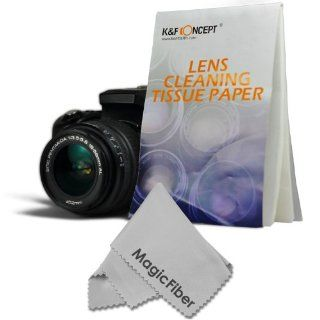 (1, 500 Sheets / 30 Booklets)   Altura Lens Cleaning Paper Tissue +MagicFiber Microfiber Cleaning Cloth  Camera Lens Tissue  Camera & Photo