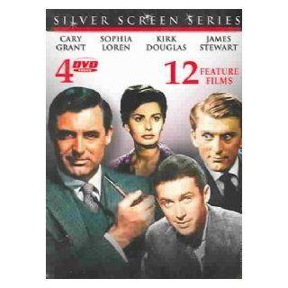 Silver Screen Series Cary Grant, Sophia Loren, Kirk Douglas, James Stewart Movies & TV