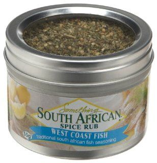 Something South African West Coast Fish Spice Rub, 1.94 Ounce Jars (Pack of 4) : Spices And Seasonings : Grocery & Gourmet Food