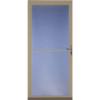 ... Pella Tan Full View Tempered Glass Storm Door (Common 81 In X 36 In; ...