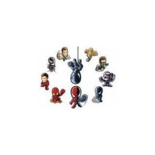 Burger King 2007 Spiderman 3 Toys Promotion Set 10 Figurines  Fruit Juices  Grocery & Gourmet Food
