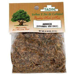 Tadin Herbs & Tea, Arnica Flor (Arnica Flower), 0.5 Ounce Cellophane Bags (Pack of 24) : Herbal Teas : Grocery & Gourmet Food