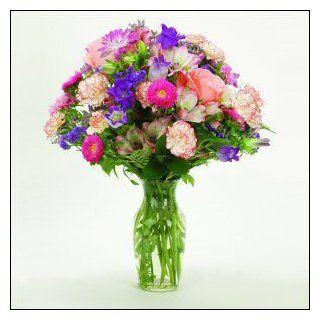 Classy Bouquet Fresh Flower Arrangement Mothers Day Gift Idea Birthday Gift Idea for Her  Fresh Cut Format Mixed Flower Arrangements  Grocery & Gourmet Food