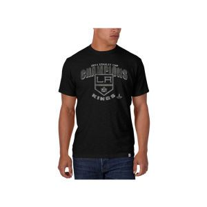 Los Angeles Kings 47 Brand NHL 2014 Stanley Cup Champ Scrum T Shirt