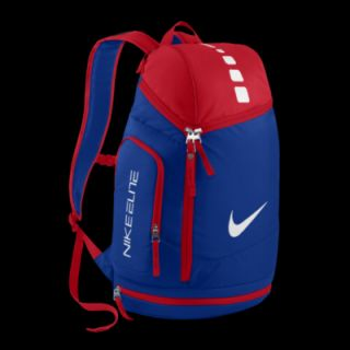 red and white nike backpack