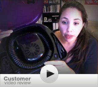 Laila Ali LADR5604 Ionic Soft Bonnet Dryer, Purple and White  Portable Salon Dryers  Beauty