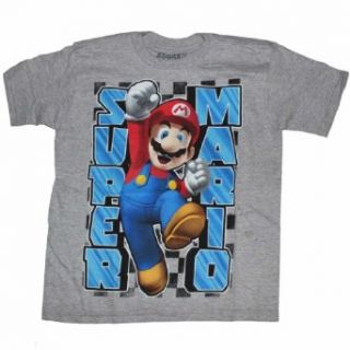 Nintendo Super Mario Brothers Boys T shirt (XS (4/5)) Clothing