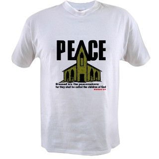 Christian Peace Bible Quote Tee by liberalstore