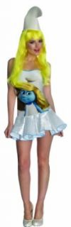 The Smurfs Sexy Smurfette Costume Dress: Adult Sized Costumes: Clothing