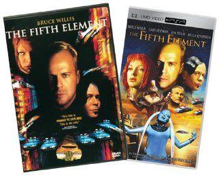 "The Fifth Element DVD/The Fifth Element UMD Christopher Adamson, John Bluthal, Lee Evans, Mia Frye, Ian Holm, Brion James, Milla Jovovich, Mathieu Kassovitz, Mawenn Le Besco, Jr. Tom ""Tiny"" Lister, John Neville, Gary Oldman, Luke Perry, Bruce Wi"