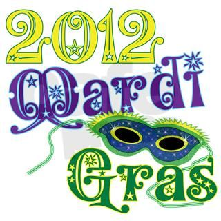 2012 Mardi Gras Note Cards (Pk of 10) by catndog