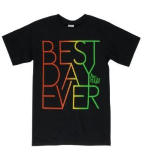 Mac Miller AUTHENTIC Best Day Ever Rasta Tee Shirt Men XLarge: Clothing