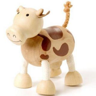 wooden farm animals by toys of essence