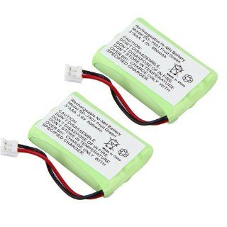 2 Pack Motorola 800mAh cordless phone battery Green Electronics