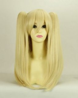 Long blond straight with pigtailscosplay wig Lolita Lolita pale feathers of my few friends over America Segawa Kobato cosplay wig thicker Meng wig Clothing