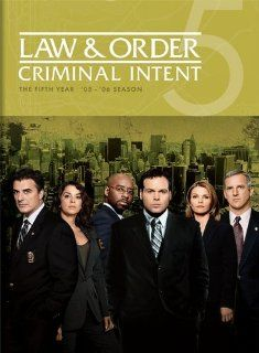 Law & Order Criminal Intent   The Fifth Year Vincent D'Onofrio, Courtney B. Vance, Jamey Sheridan, Kathryn Erbe, Chris Noth Movies & TV