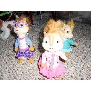 TY Beanie Babies   Brittany, Eleanor & Jeanette ( Set of 3 Chipettes ) ( Alvin & the Chipmunks ): Toys & Games