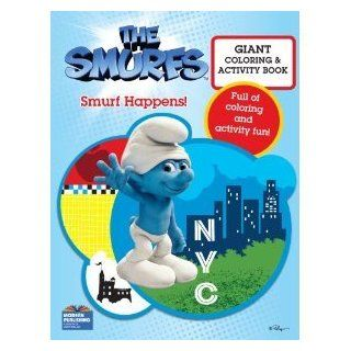 The Smurfs Movie Coloring Book   Smurf Happens!: Toys & Games