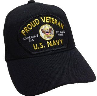 Proud Veteran Vet All Gave Some Some Gave All US Navy USN Ball Cap Patch Hat OIE OEF