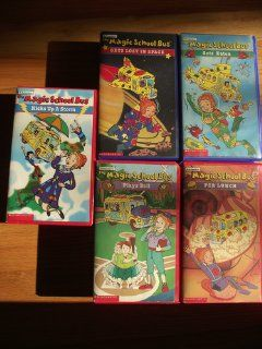 THE MAGIC SCHOOL BUS:GETS LOST IN SPACE,TAKING FLIGHT AND INSIDE THE HAUNTED HOUSE: Movies & TV