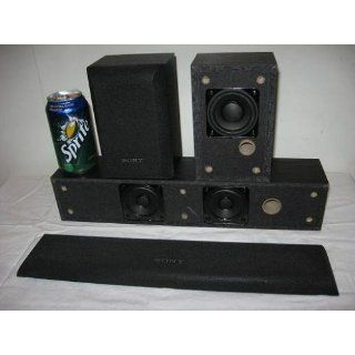 Sony SS CR3000 Center and Rear Channel Speaker Package Electronics