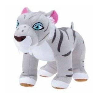 "ICE AGE SHIRA PLUSH   Hard to Find Ice Age Continental Drift 13"" Plush Shira Tiger Doll Toys & Games"