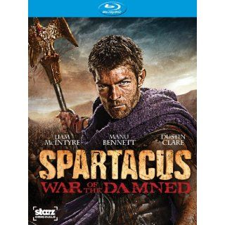 Spartacus: War of the Damned: Season 3 [Blu ray]: Liam McIntyre, Dustin Clare, Manu Bennett, Dan Feuerriegel, Rob Tapert, Steven S. DeKnight, Sam Raimi, Joshua Donen: Movies & TV