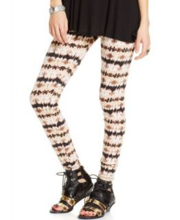Material Girl Juniors Printed Leggings   Juniors Pants & Leggings