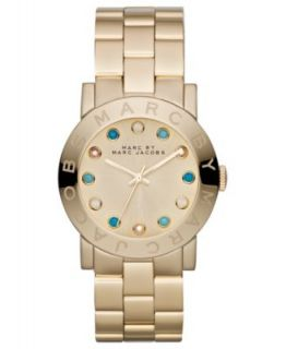 Marc by Marc Jacobs Watch, Womens Amy Rose Gold Ion Plated Stainless Steel Bracelet MBM3077   Watches   Jewelry & Watches