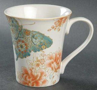 222 Fifth (PTS) Zoe Butterfly Mug, Fine China Dinnerware