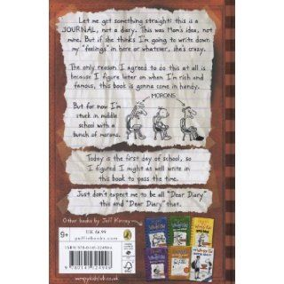 Diary of a Wimpy Kid Jeff Kinney 9780141324906 Books