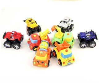 5pc Engineering Off Road Cross Country Toy Truck For Kids K0857: Toys & Games