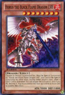 Yu Gi Oh   Horus the Black Flame Dragon LV8 (LCYW EN199)   Legendary Collection 3 Yugi's World   Limited Edition   Common Toys & Games