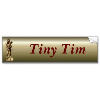 Bob Cratchit and Tiny Tim Christmas Carol Bumper Stickers