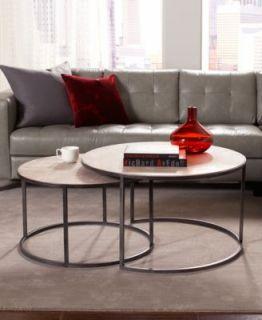 Monterey Coffee Table, Round Nesting   Furniture